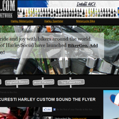 "Daytona Twins Bucuresti – Harley custom sound, ""The flyer"""